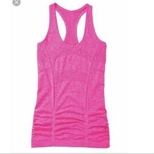 Pink Fastest Track tank Athleta